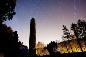 Painting With Light & Star Trails in Glendalough