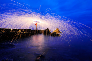 Steel Wool & Light Orb Photography