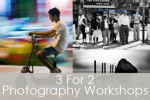 3 For 2 Photography Workshops