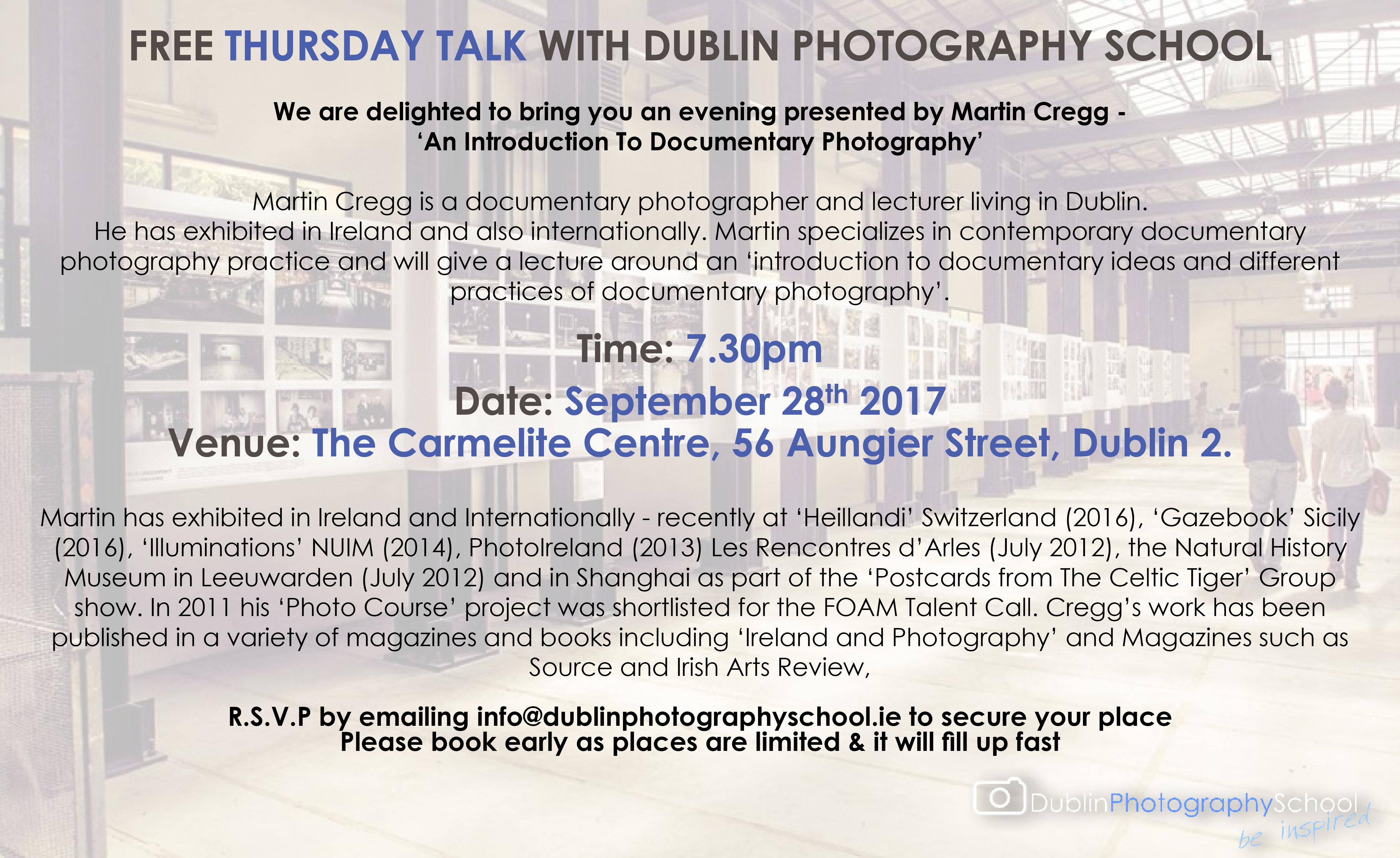 landscape photography courses dublin