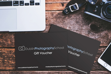 photography course gift vouchers dublin