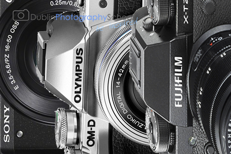 Mirrorless camera photography courses ireland