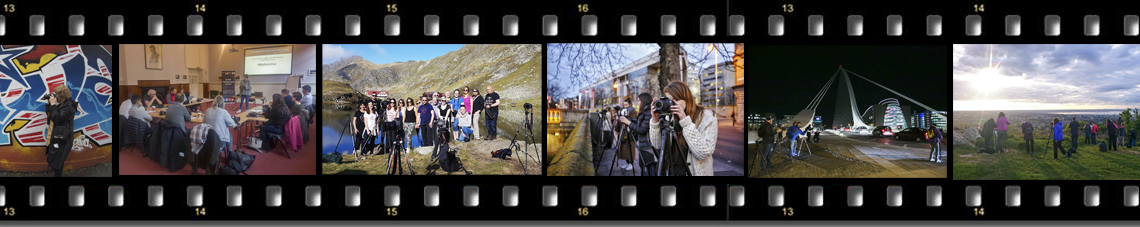 photography courses group bookings