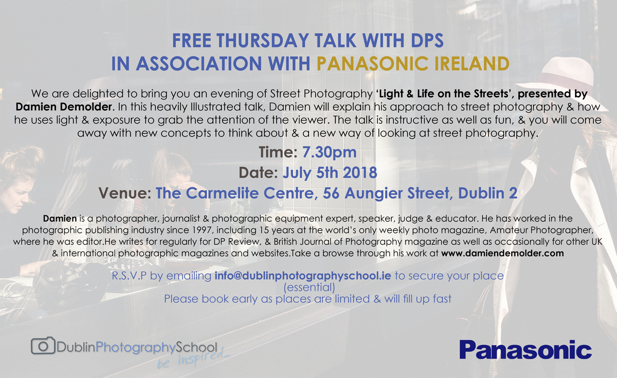 panasonic photography courses ireland