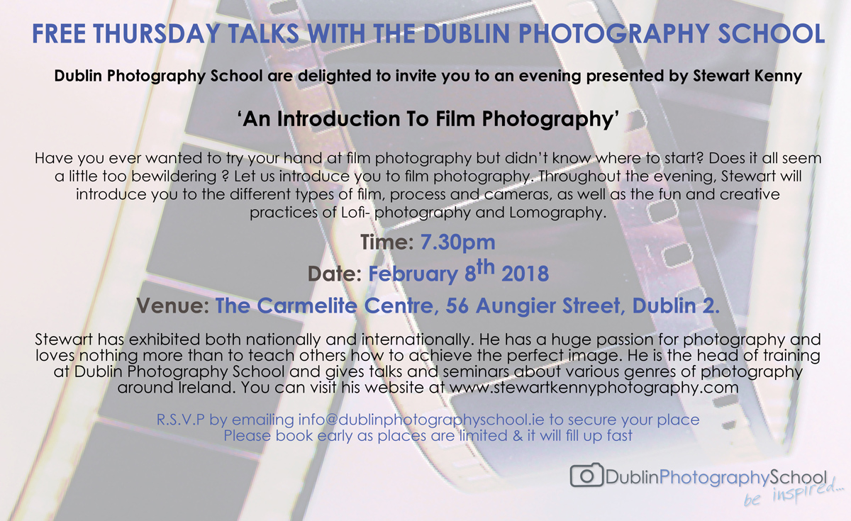 film photography courses dublin