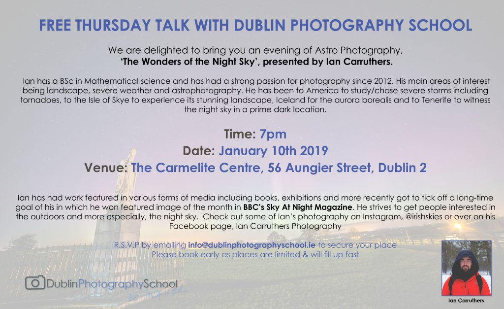 astro photography courses ireland