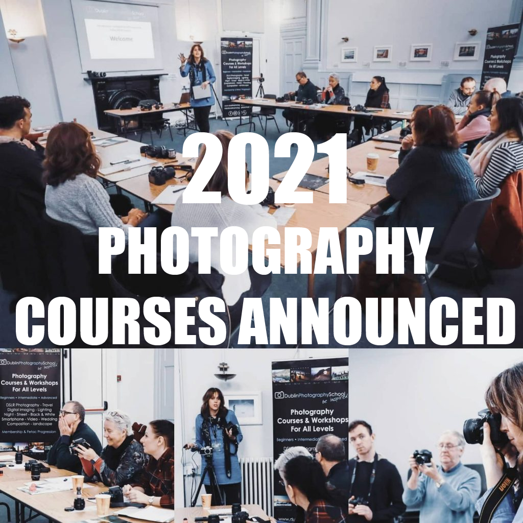2021 photography courses dublin